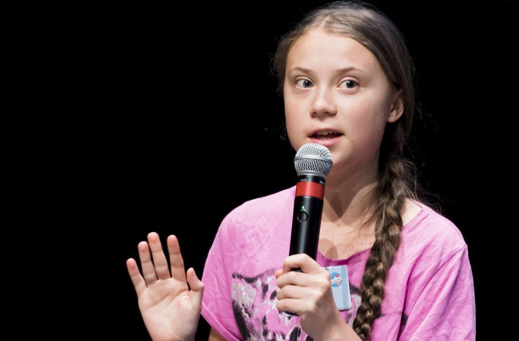 """Auch die schwedische Klimaaktivistin Greta Thunberg ist beim """"Fridays-for-Future""""-Gipfel in der Schweiz mit dabei. Dort wurde die Bürgerinitiative bekannt gegeben. Foto: AP"""