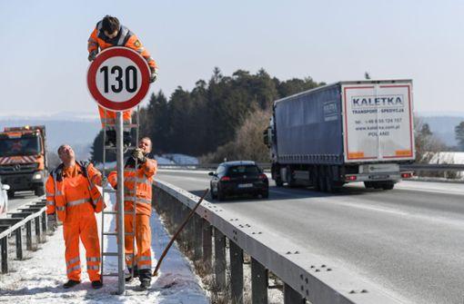 Skepsis wegen Tempolimit auf Autobahnen