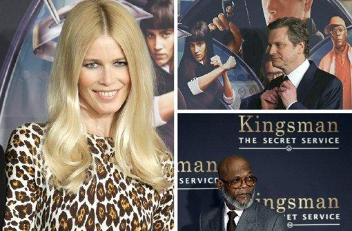 Claudia Schiffer präsentiert Kingsman