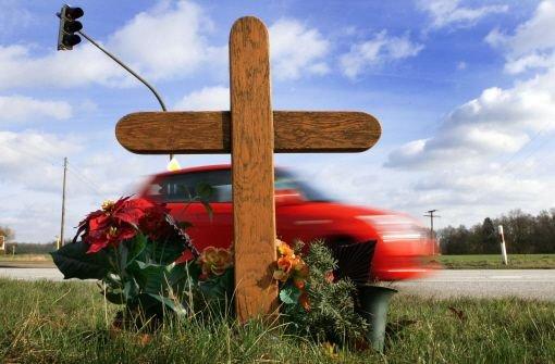 Mehr Tote auf deutschen Straßen