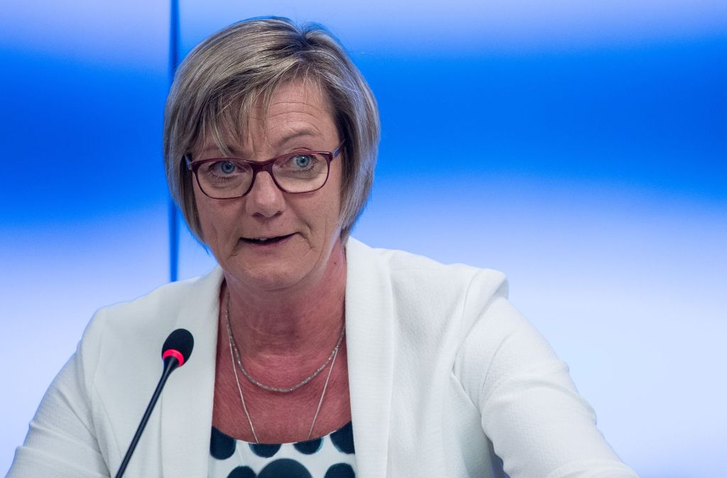 Finanzministerin Edith Sitzmann Foto: dpa
