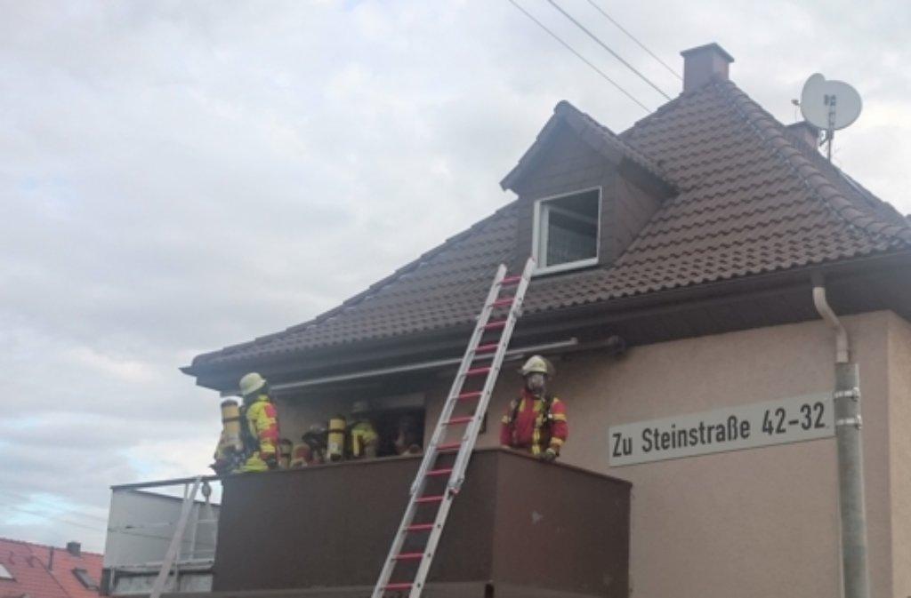 Der Mann wollte Haschischöl herstellen und löste eine Brand aus. Foto: Feuerwehr Leonberg