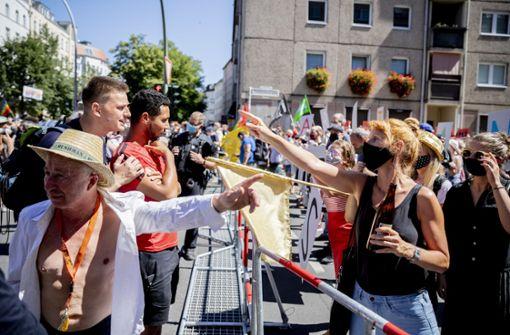 Tausende demonstrieren in Berlin gegen Corona-Maßnahmen