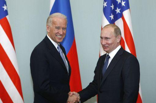 Wladimir Putin und Joe Biden einig über Abrüstungsvertrag