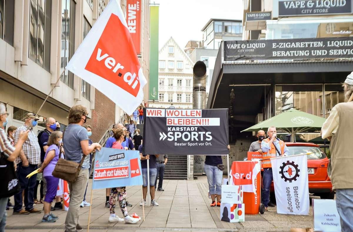 Karstadt Sport Schließung
