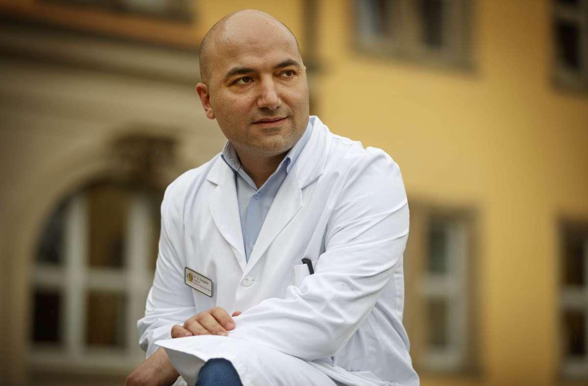 Deniz Karagülle ist jetzt Chefarzt für drei Standorte Foto: Gottfried Stoppel