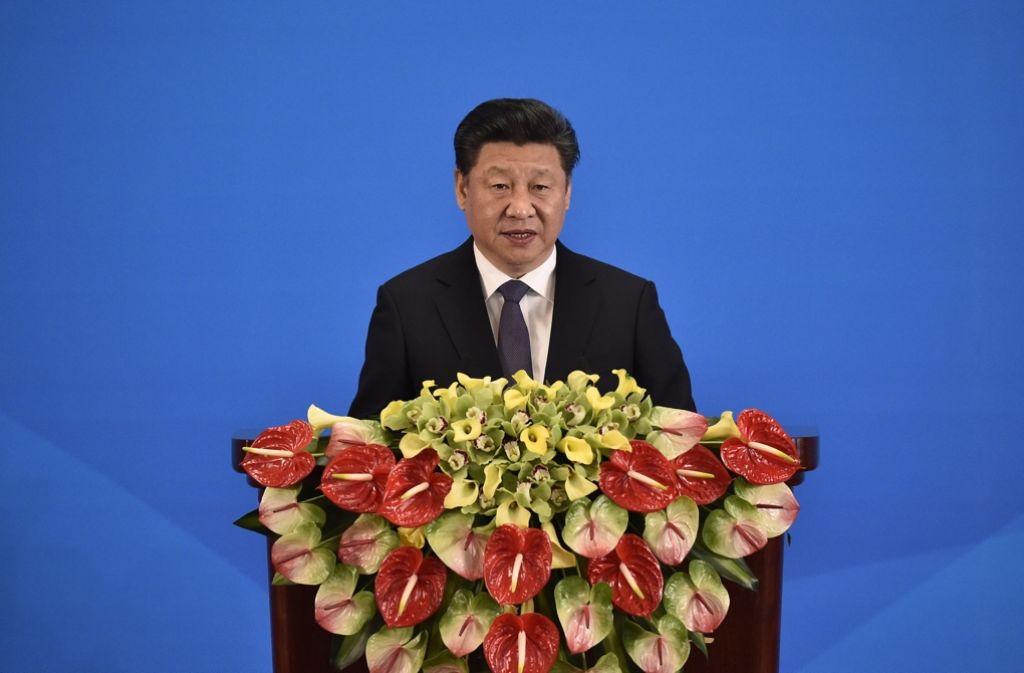 Chinas Präsident Xi Jinping will das Denken der Chinesen unter Kontrolle bringen. Foto: dpa
