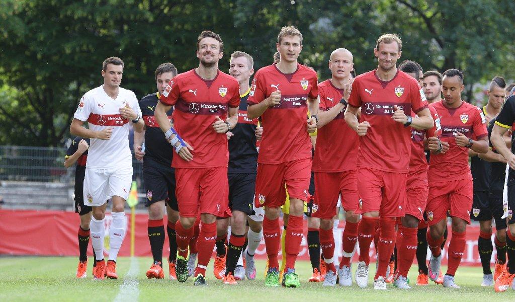 Los gehts beim VfB Stuttgart. Foto: Pressefoto Baumann
