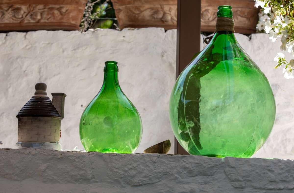 In diesem Artikel zeigen wir Ihnen 4 Möglichkeiten, wie Sie auch große Weinballons reinigen können. Foto: Wjarek / Shutterstock.com