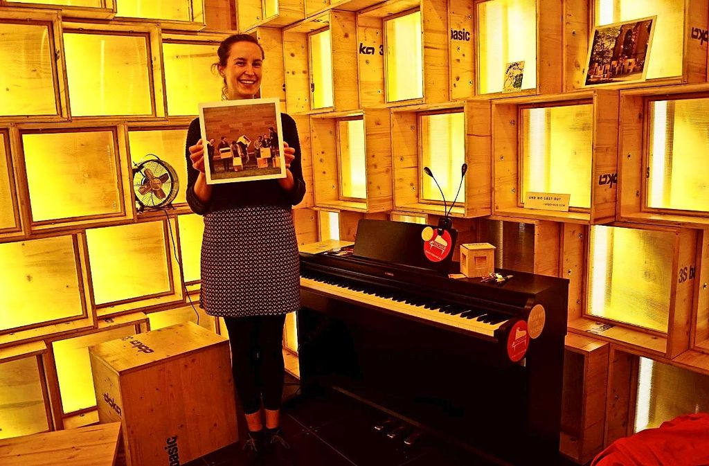 Nicola Missel hat ihre Masterarbeit in die Realität umgesetzt. Foto: Amelie Englert