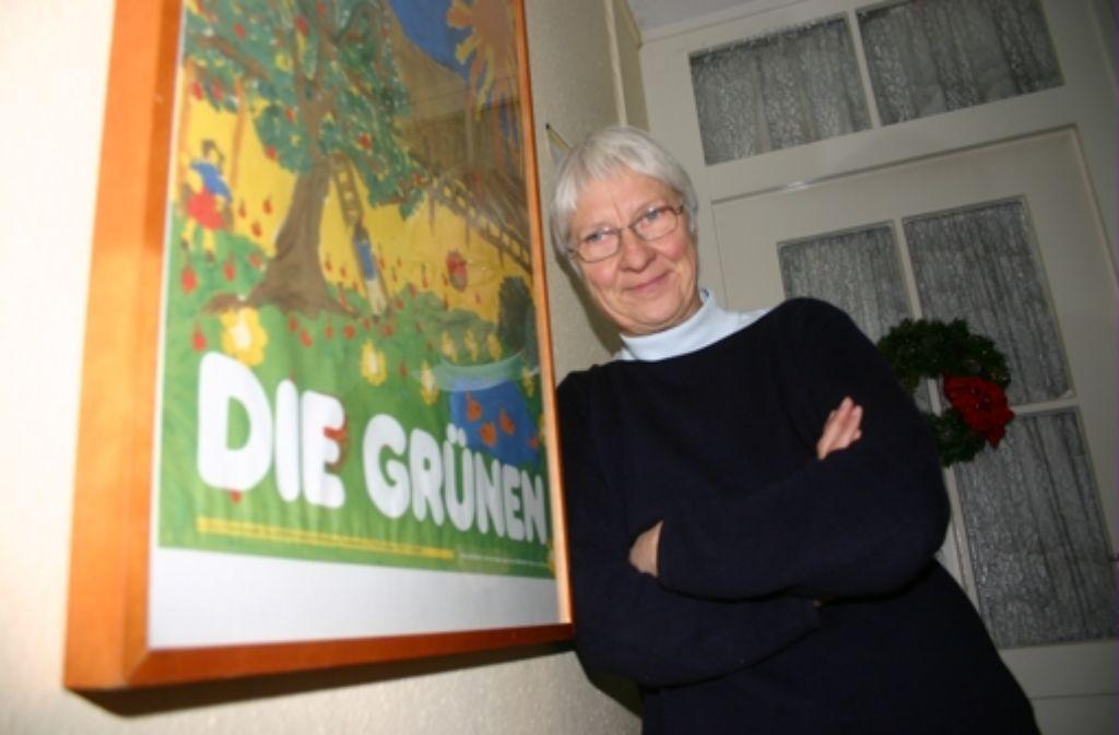 Die ehemalige Grünen-Stadträtin Ursula Marx soll Behindertenbeauftragte der Stadt Stuttgarte werden. Bei CDU und SPD stößt die Personalie auf Ablehnung. Foto: Müller