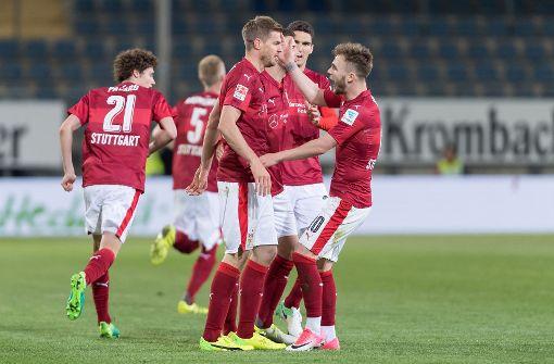 VfB dank Terodde vor Bundesliga-Rückkehr