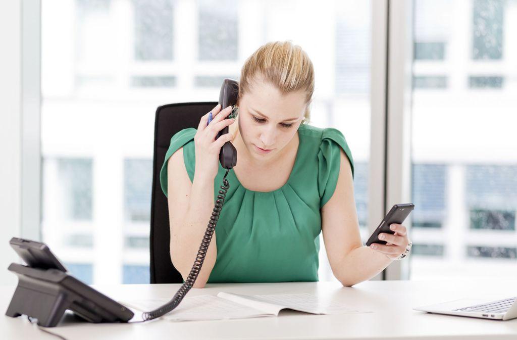 Mehr als die Hälfte der Beschäftigten in Deutschland steht bei der Arbeit häufig unter einem hohen Zeitdruck. Foto: dpa/Monique Wüstenhagen