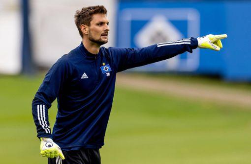 Sven Ulreich beim HSV – gekommen, um zu spielen
