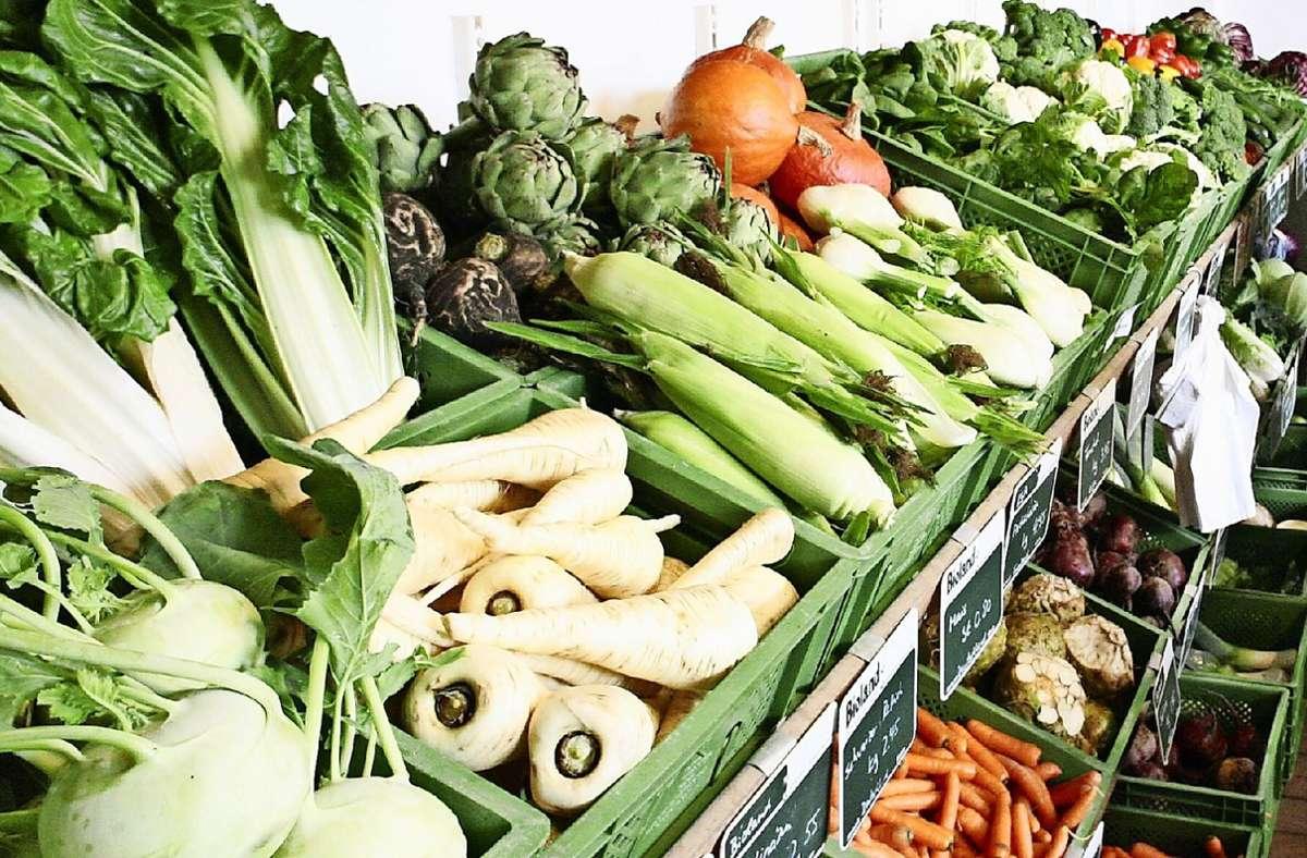 Auf den Fildern bieten die Direktvermarkter vor allem Gemüse an. Foto: dpa/Robert Fishman