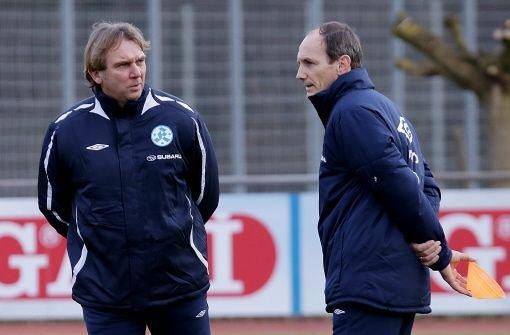 Aufgalopp bei Kickers: Gerd Dais ist da