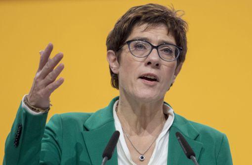 Die neue CDU-Chefin dürfte ein Gehalt bekommen