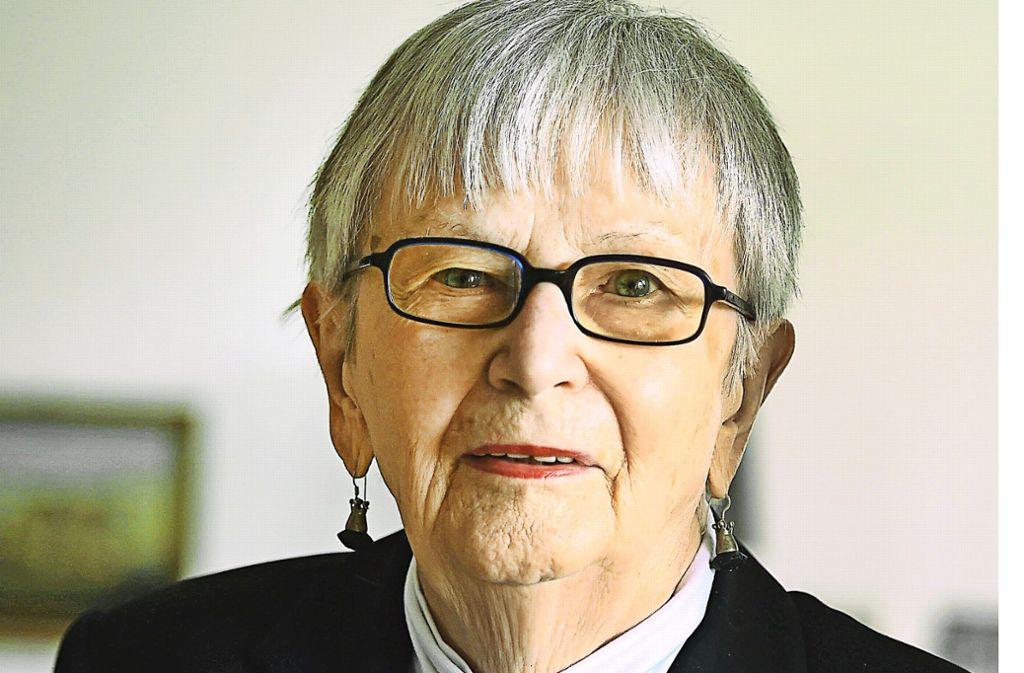 Leonie Ossowski (1925-2019) Foto: dpa