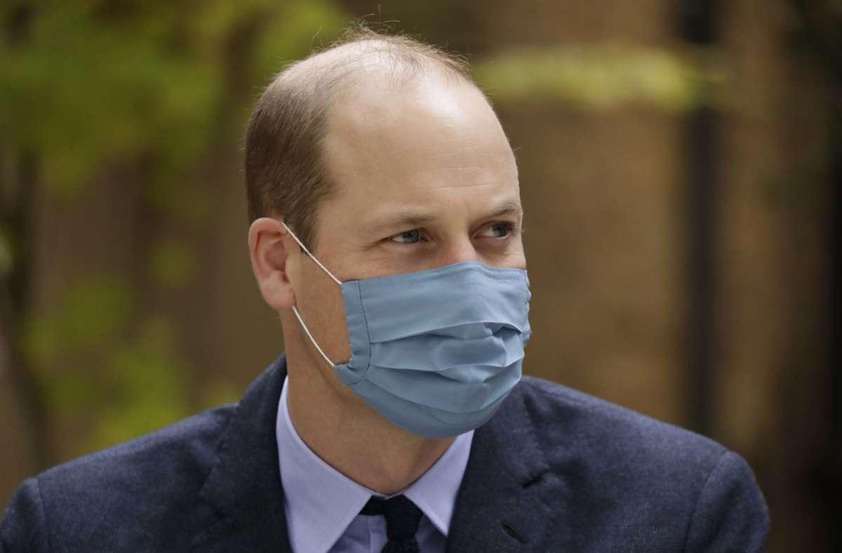 Prinz William soll eine Corona-Infektion schon hinter sich haben. Foto: AP/Matt Dunham