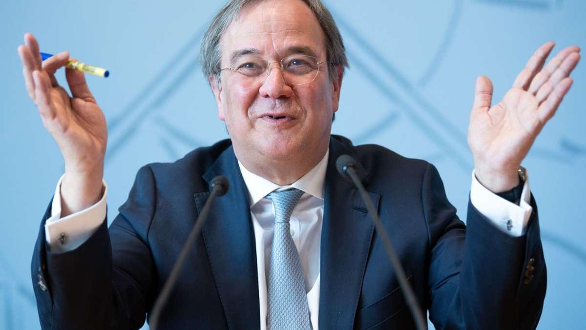 CDU-Bundesvorstand stimmt für Armin Laschet als Kanzlerkandidat