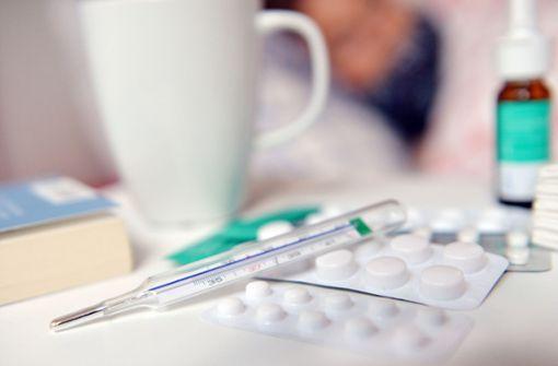 Zahl der Grippefälle hat sich verdoppelt