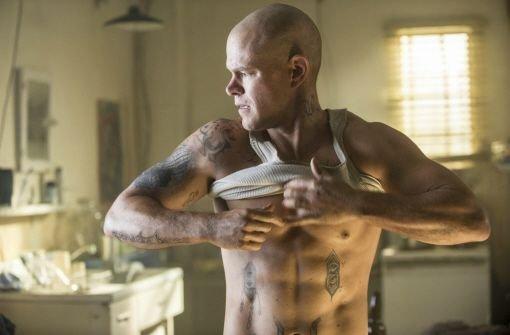 Matt Damon als Muskelpaket in SciFi-Thriller