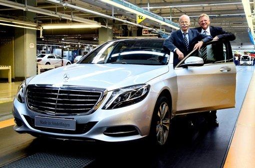 Daimler investiert massiv in Sindelfingen