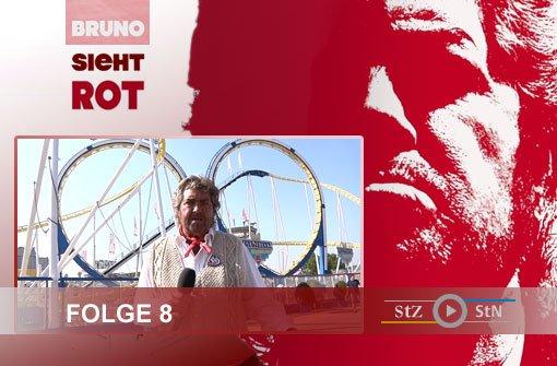 Bruno sieht rot: Auf dem Volksfest