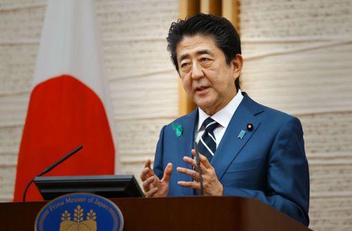 Abe tritt wegen der Gesundheit zurück