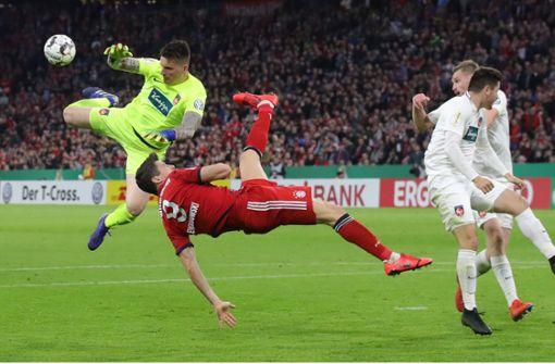 Heidenheim verliert verrücktes Pokalspiel in München