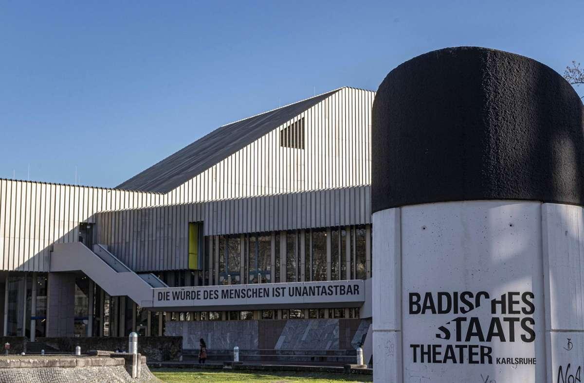 Das Badische  Staatstheater in Karlsruhe. Foto: dpa/Uli Deck