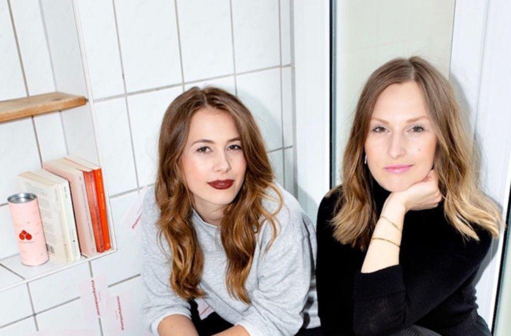 Die Gründerinnen von The Female Company: Ann-Sophie und Sinja. Foto: Linda Ambrosius