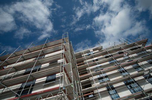 Wohnungsbaumittel werden nur teilweise abgerufen