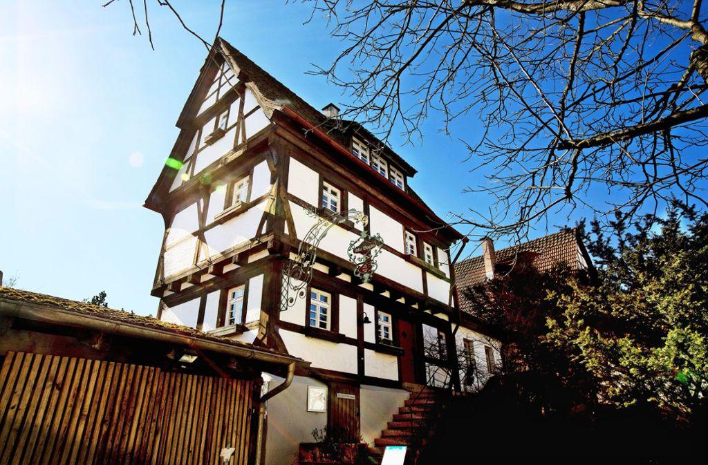 Seit dem Sommer vergangenen Jahres steht die Alte Vogtei leer. Foto: Horst Rudel