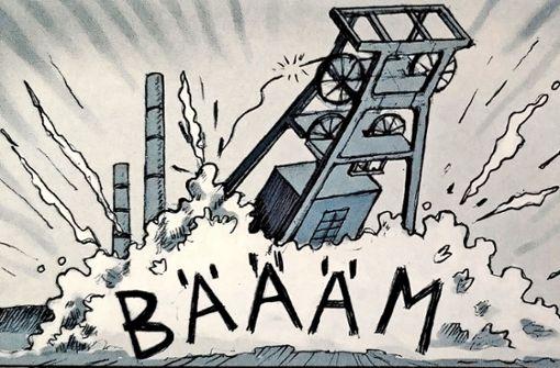 Ein Comic zeigt die Gewalt der Neonazis