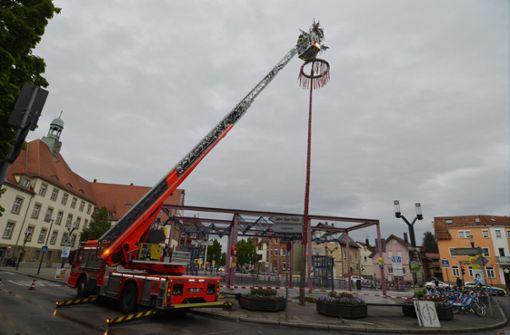 Wilhelm-Geiger-Platz wegen Sturmschäden gesperrt
