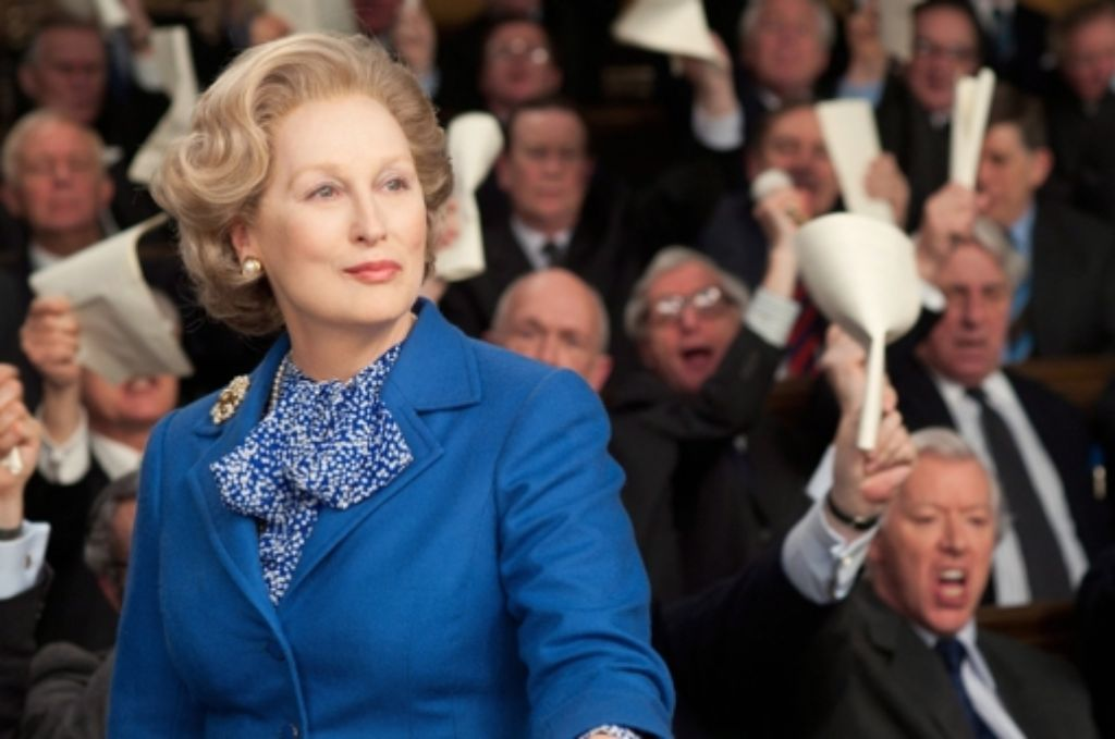 Meryl Streep als Margaret Thatcher Foto: AMPAS/THE WEINSTEIN COMPANY