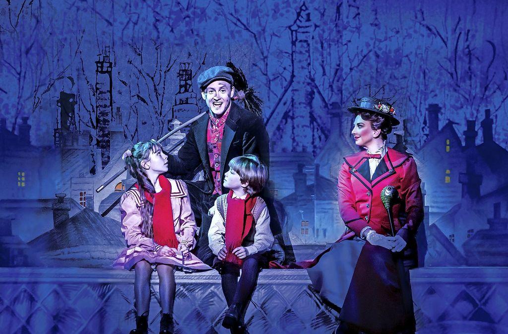 "Kinderdarsteller im Musical ""Mary Poppins"". Kinderdarsteller  bei ""Mary Poppins"" Foto: Stage Entertainment"