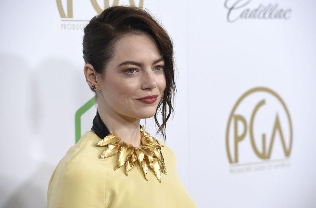 """Stone wurde für ihre Rolle als Zofe in der Sittenkomödie """"The Favourite - Intrigen und Irrsinn"""" nominiert. Foto: Invision"""