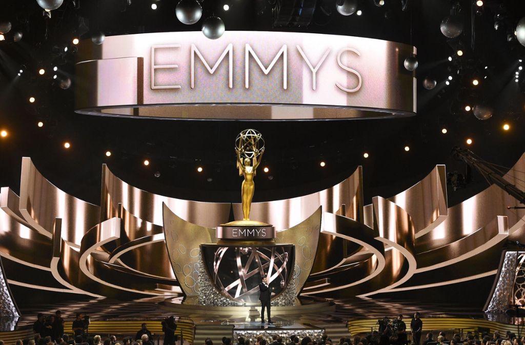Vielleicht hätte er es gerne wieder getan, aber den Job gibt es dieses Jahr nicht: Jimmy Kimmel  hat die Emmy-Verleihung 2016 moderiert. Foto: AP