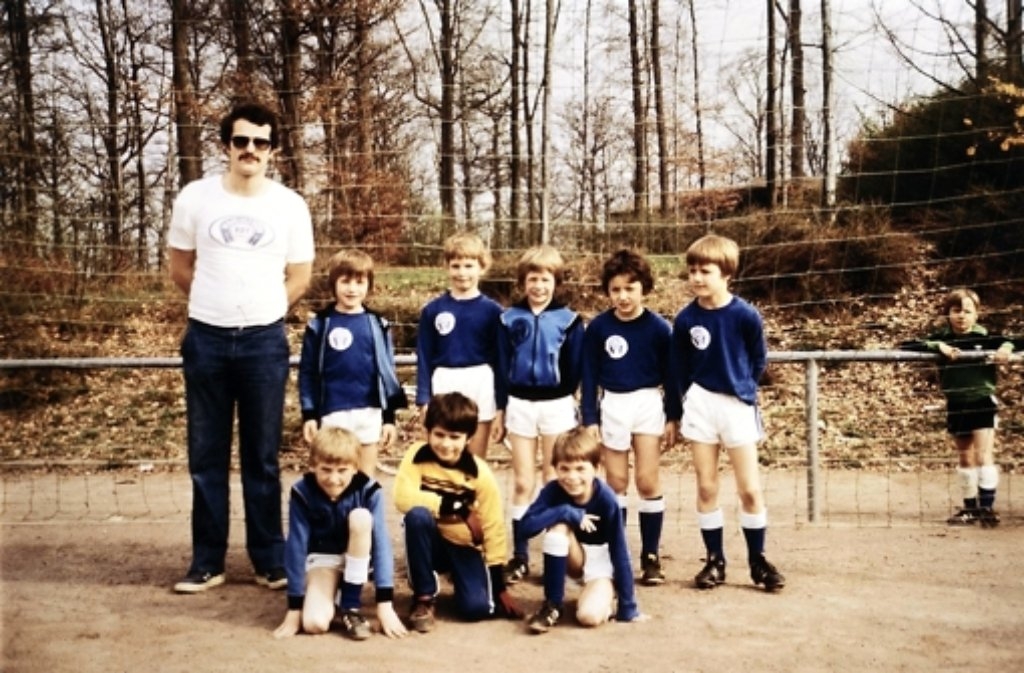 Gruppenfoto mit Trainer Wolfgang Pohler, ganz rechts hat sich Thomas Schneider positioniert. Foto: privat