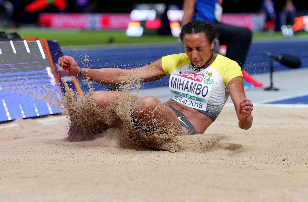 Gold-Kandidatin:   Die Weitspringerin Malaika Mihambo gilt als heiße Titel-Anwärterin. Foto: Baumann