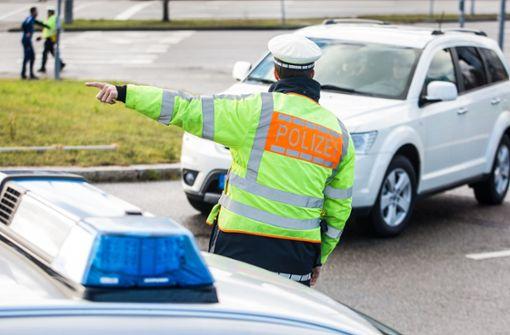 Polizei findet Granatwerfer bei Autobahn-Kontrolle