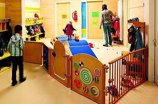 Kinderg rten architektur weniger ist oft mehr wohnen for Raumgestaltung stuttgart