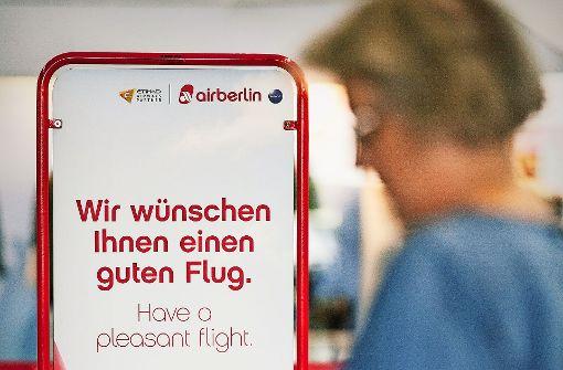 Verbraucherschützer warnen vor Buchungen bei Air Berlin