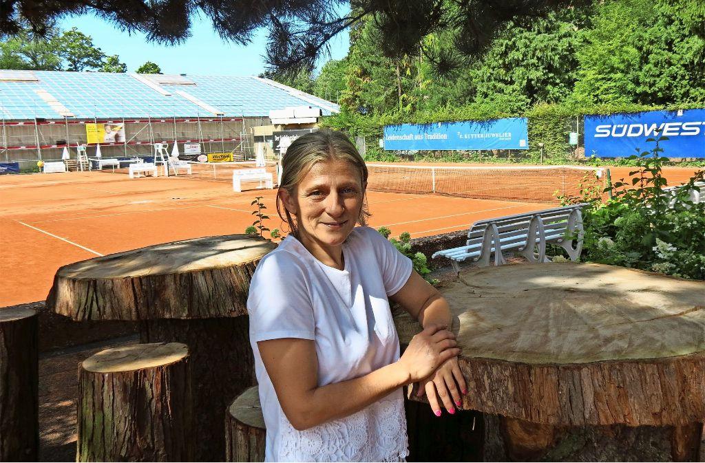Wenn Anna Schmid mal nicht arbeitet, treibt sie privat gerne Sport. Foto: Julia Bosch