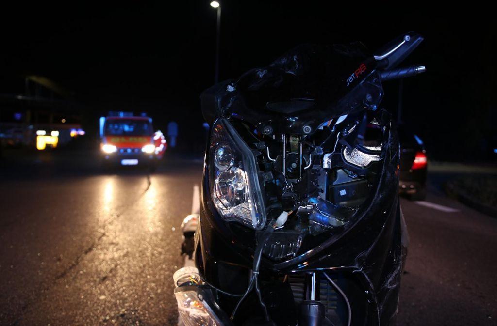 In Backnang ereignete sich ein schlimmer Unfall. Foto: 7aktuell.de/Kevin Lermer