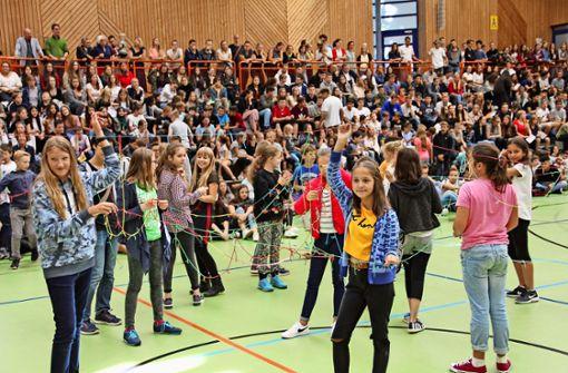 Das größte Stuttgarter Gymnasium geht an den Start