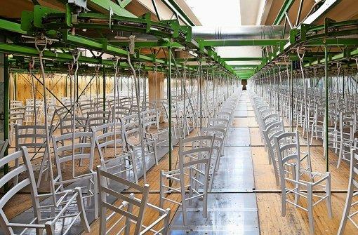 Stühle für Ikea und den Buckingham-Palast