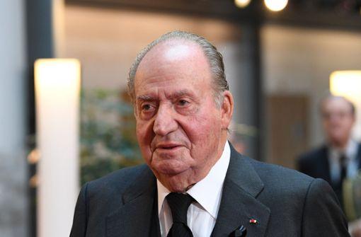 Spaniens Ex-König  zieht ins Ausland um